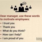 Wertschätzendes Feedback motiviert